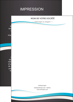 creation graphique en ligne flyers standard design abstrait MIF45707