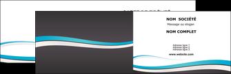 imprimerie carte de visite standard design abstrait MIF45717