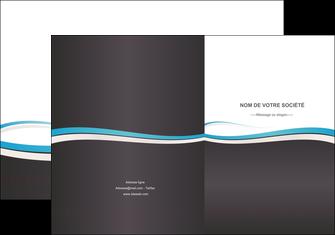 personnaliser modele de pochette a rabat standard design abstrait MIF45721