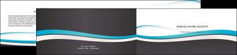 exemple depliant 2 volets  4 pages  standard design abstrait MIF45723