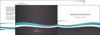 personnaliser maquette depliant 2 volets  4 pages  standard design abstrait MLIG45725