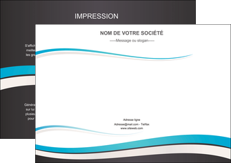 imprimer flyers standard design abstrait MIF45727
