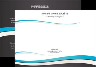 Commander Documents  modèle graphique pour devis d'imprimeur Flyer A4 - Paysage (29,7x21cm)