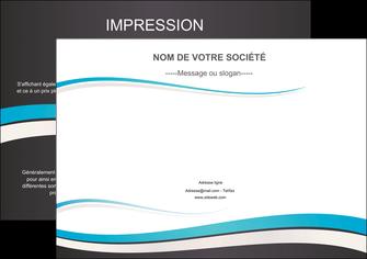 personnaliser modele de affiche standard design abstrait MIF45733