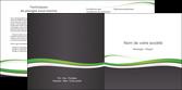 modele depliant 2 volets  4 pages  standard design abstrait MLGI45751