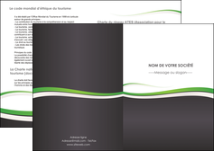 personnaliser modele de depliant 2 volets  4 pages  standard design abstrait MLGI45757