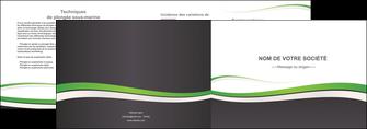 maquette en ligne a personnaliser depliant 2 volets  4 pages  standard design abstrait MLGI45771