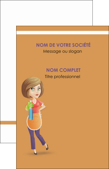 imprimerie carte de visite menagere femme femme au foyer MLGI45789