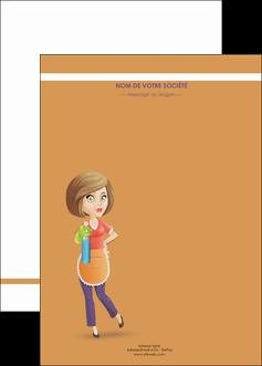 creer modele en ligne affiche menagere femme femme au foyer MLGI45809
