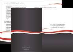 cree depliant 2 volets  4 pages  texture contexture structure MLGI45843