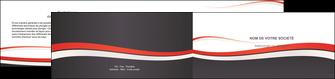 realiser depliant 2 volets  4 pages  texture contexture structure MLGI45855
