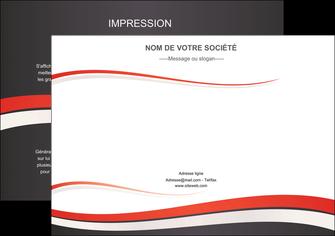 Commander Flyer A4  modèle graphique pour devis d'imprimeur Flyer A4 - Paysage (29,7x21cm)