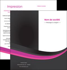 imprimer depliant 2 volets  4 pages  standard texture structure MLIG45873