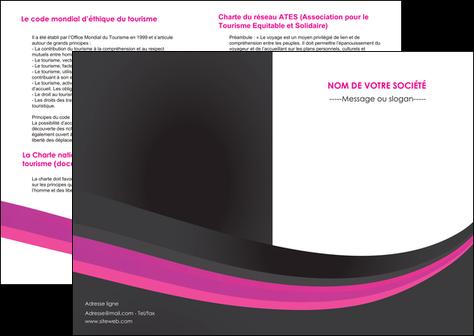 modele en ligne depliant 2 volets  4 pages  standard texture structure MLGI45885