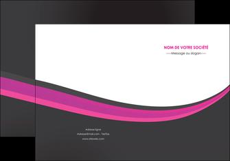 personnaliser maquette pochette a rabat standard texture structure MLIG45897