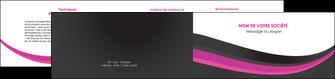 imprimerie depliant 2 volets  4 pages  standard texture structure MLIG45899