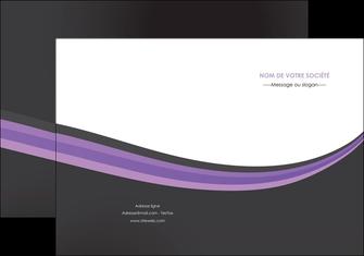 modele pochette a rabat standard texture abstrait MLIG46019