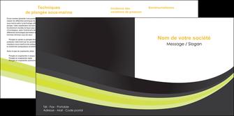 maquette en ligne a personnaliser depliant 2 volets  4 pages  standard texture abstrait MIF46047