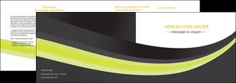 personnaliser modele de depliant 2 volets  4 pages  standard texture abstrait MIF46069