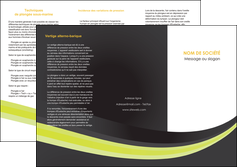 personnaliser maquette depliant 3 volets  6 pages  standard texture abstrait MIF46083
