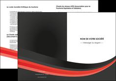 creer modele en ligne depliant 2 volets  4 pages  standard texture abstrait MLGI46183