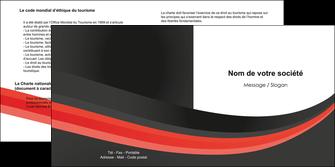imprimer depliant 2 volets  4 pages  standard texture abstrait MIF46185