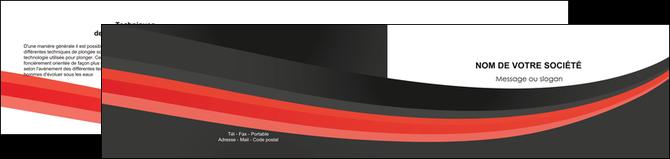 creation graphique en ligne depliant 2 volets  4 pages  standard texture abstrait MLGI46195