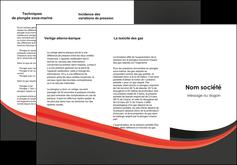Impression depliant pulicitaire  depliant-pulicitaire Dépliant 6 pages pli accordéon DL - Portrait (10x21cm lorsque fermé)