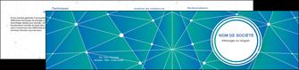 impression depliant 2 volets  4 pages  texture contexture structure MIF46353