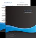 maquette en ligne a personnaliser depliant 2 volets  4 pages  texture contexture structure MLGI46373
