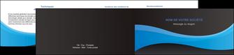 creation graphique en ligne depliant 2 volets  4 pages  texture contexture structure MLIG46399