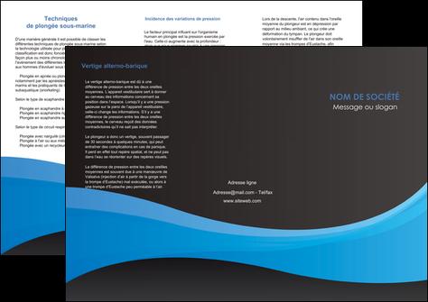 creer modele en ligne depliant 3 volets  6 pages  texture contexture structure MLGI46415