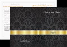 faire modele a imprimer depliant 2 volets  4 pages  standard texture abstrait MLGI46417