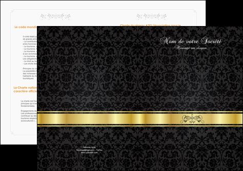 imprimer depliant 2 volets  4 pages  standard texture abstrait MIS46421