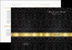 imprimer depliant 2 volets  4 pages  standard texture abstrait MLIG46421