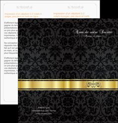 creer modele en ligne depliant 2 volets  4 pages  standard texture abstrait MLGI46425