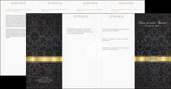 imprimerie depliant 4 volets  8 pages  standard texture abstrait MLGI46451