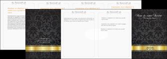 modele depliant 4 volets  8 pages  standard texture abstrait MLGI46453