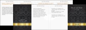 imprimer depliant 4 volets  8 pages  standard texture abstrait MLIG46455
