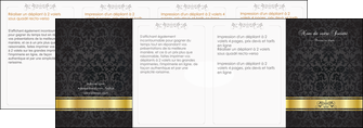 imprimer depliant 4 volets  8 pages  standard texture abstrait MLGI46455