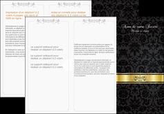 Commander Dépliant  modèle graphique pour devis d'imprimeur Dépliant 6 pages pli accordéon DL - Portrait (10x21cm lorsque fermé)