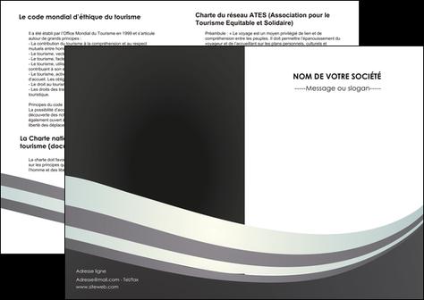 faire modele a imprimer depliant 2 volets  4 pages  standard texture abstrait MLGI46481