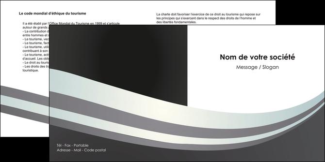 faire depliant 2 volets  4 pages  standard texture abstrait MLGI46485