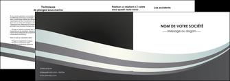 imprimer depliant 2 volets  4 pages  standard texture abstrait MLGI46497