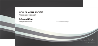 personnaliser modele de carte de correspondance standard texture abstrait MIF46501