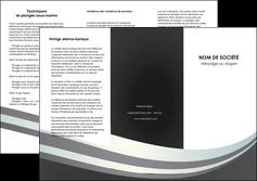 modele en ligne depliant 3 volets  6 pages  standard texture abstrait MLGI46511
