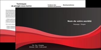 modele depliant 2 volets  4 pages  standard texture contexture MIF46521