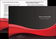 imprimerie depliant 2 volets  4 pages  standard texture contexture MIF46527