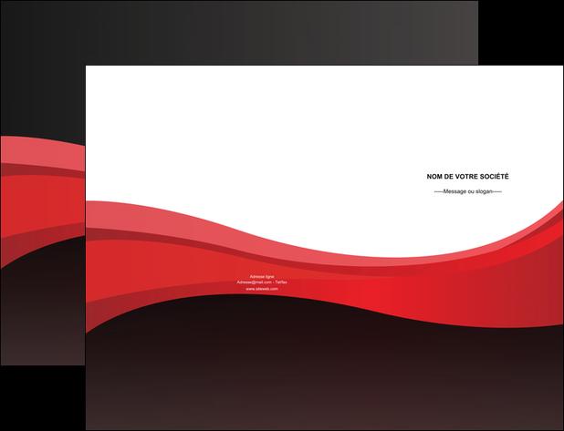 personnaliser maquette pochette a rabat standard texture contexture MIF46537