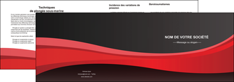 modele en ligne depliant 2 volets  4 pages  standard texture contexture MIF46541